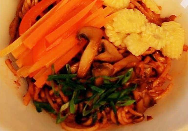 Homemade Veg Noodles