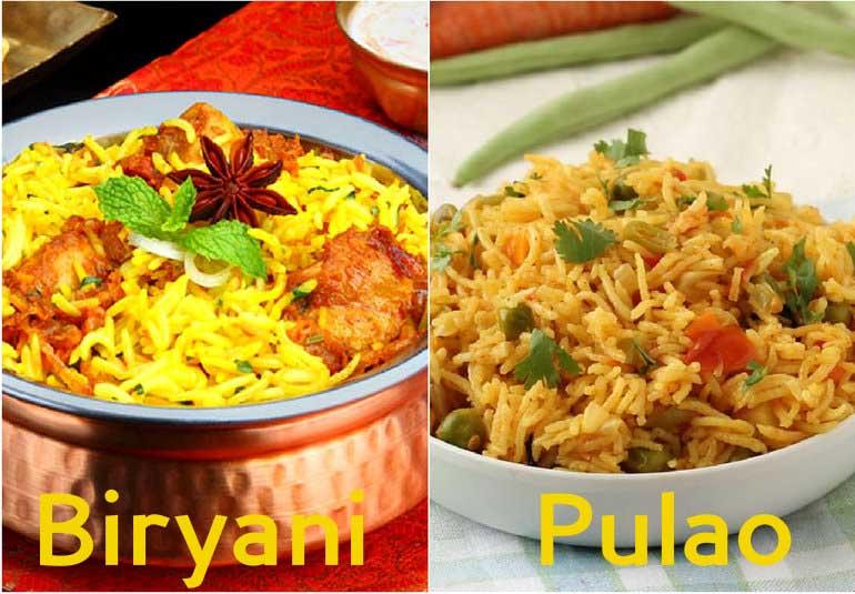 Fun Food Trivia: Pulao vs Biryani