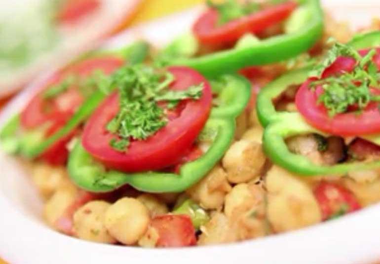 Evening Snack: Kabuli Chana Chaat