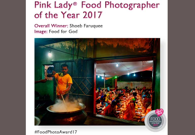 Bangladeshi Photographer Bags Award For Capturing Food For God