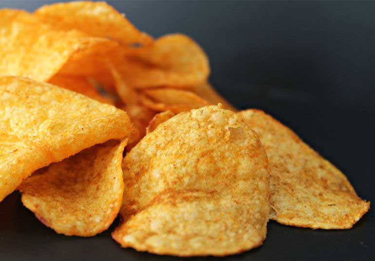 DIY Food: Quick Microwave Potato Chips