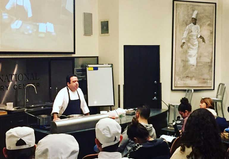 Photo Of The Day: Chef Manish Mehrotra Hosts Indian Food Class In New York