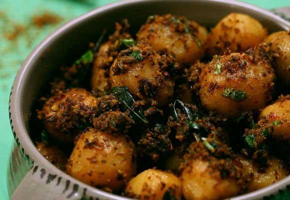 Mothers Day Special: Chettinad Baby Potato Roast