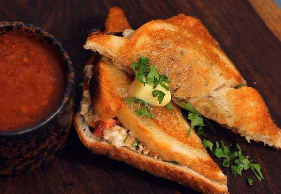 Paneer Masala Toastie-Sandwich