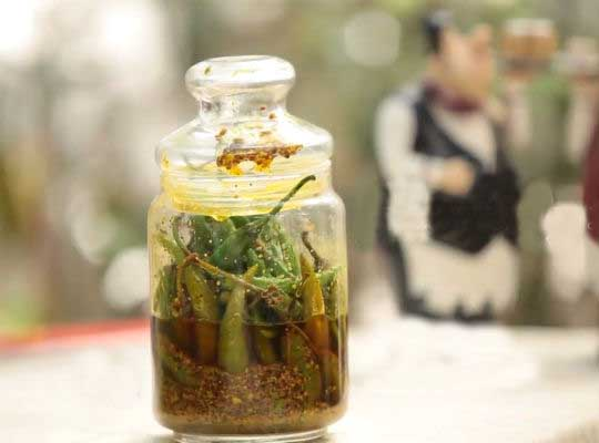 Mothers Day Special: Green Chilli Pickle
