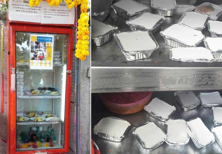 A Community Fridge In Mumbai Is Feeding The Hungry