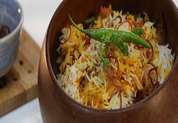 Fish Biryani Bengali Style