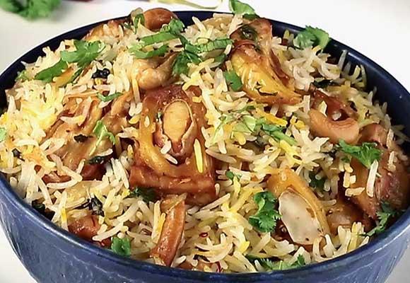 Vegetarian Kathal Biryani