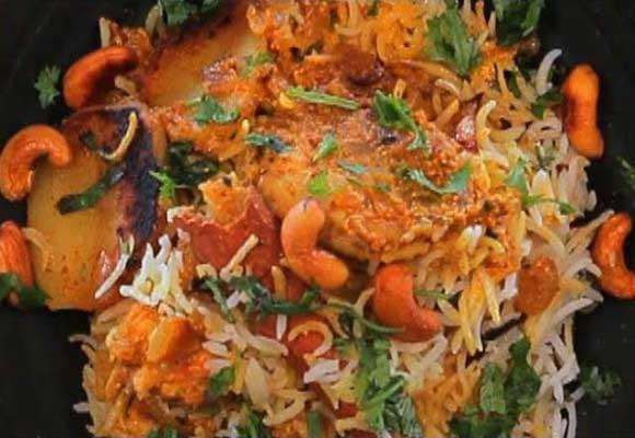 Kolahpuri Chicken Biryani
