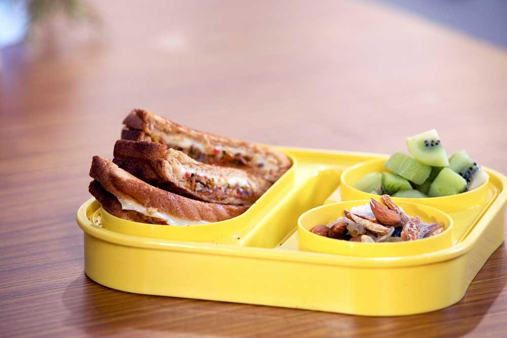 Kissan Tiffin Timetable: Mushroom Cheese Sandwich