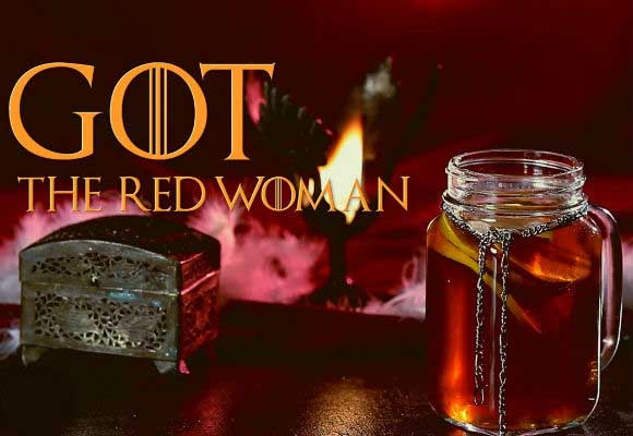 Game Of Thrones Cocktails: The Red Woman