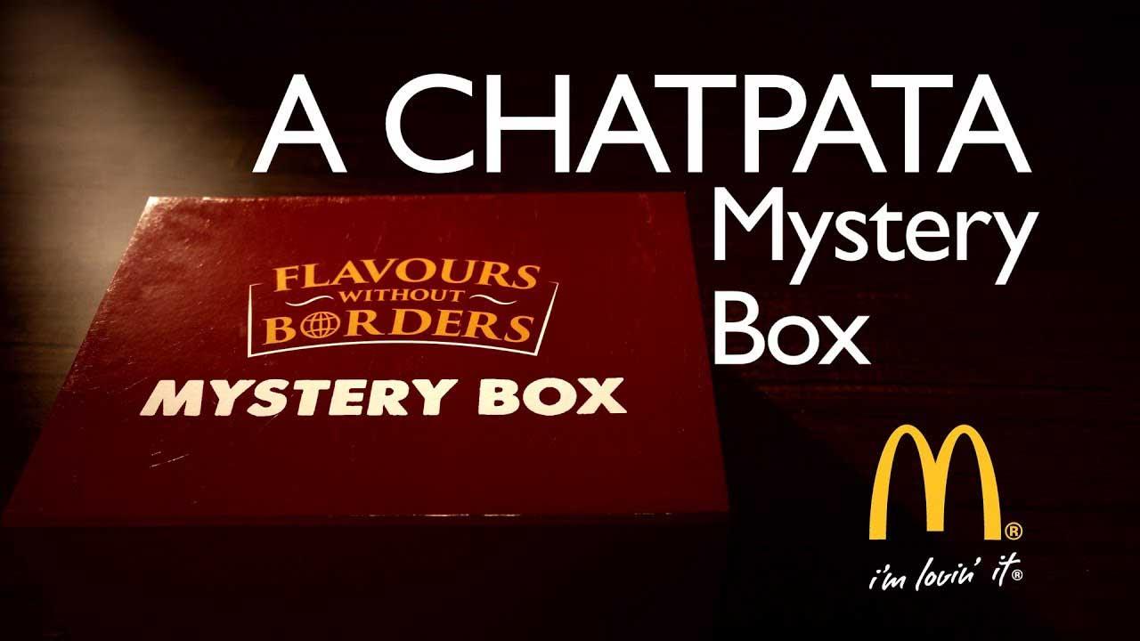 McDonalds - Mystery Box For Chef Ashay