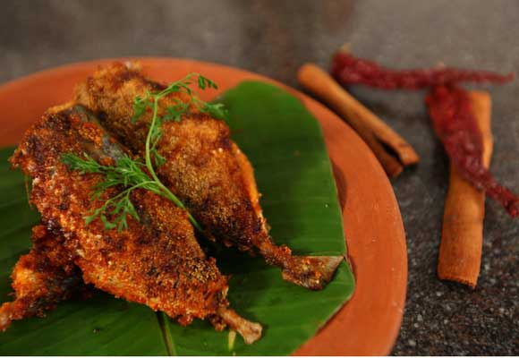 Goan Style Rava Fish Fry