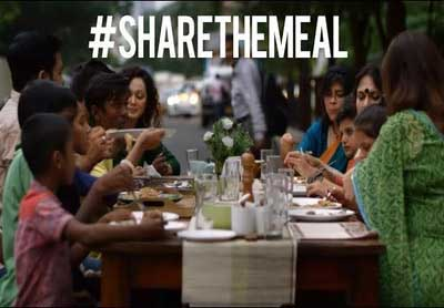 Share The Meal - Celebrating World Food Day 2017