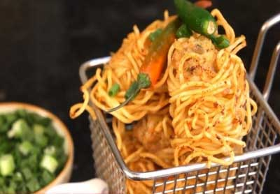 Prawn Noodle Pakora