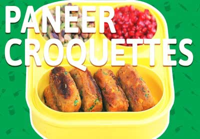 Crunchy Paneer Cheese Croquettes