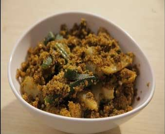 Easy Aloo Bhindi Recipe - Best with Rotis