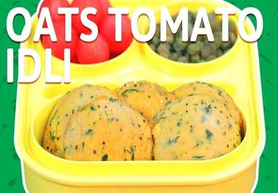 Oats Tomato Idli Recipe