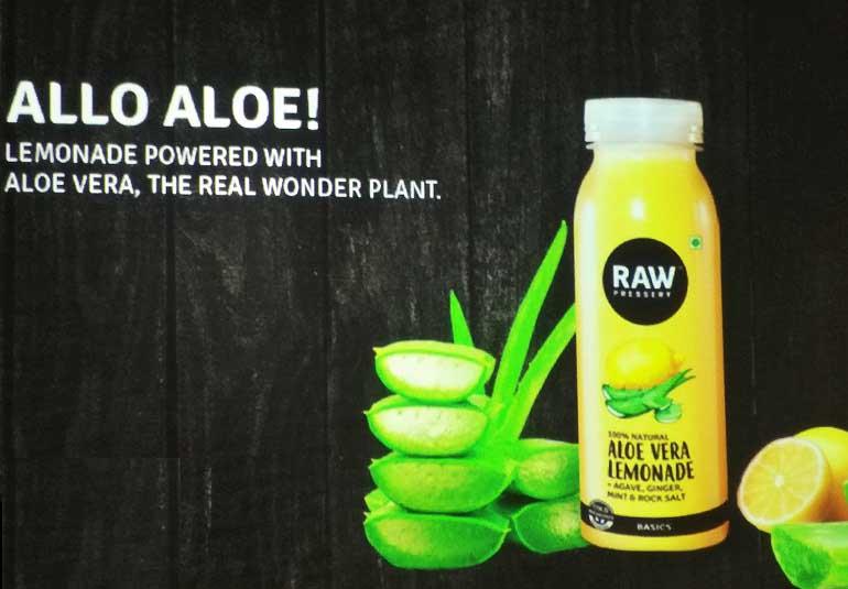 Aloe Vera Lemonade & Turmeric Almond Milk, Anyone?