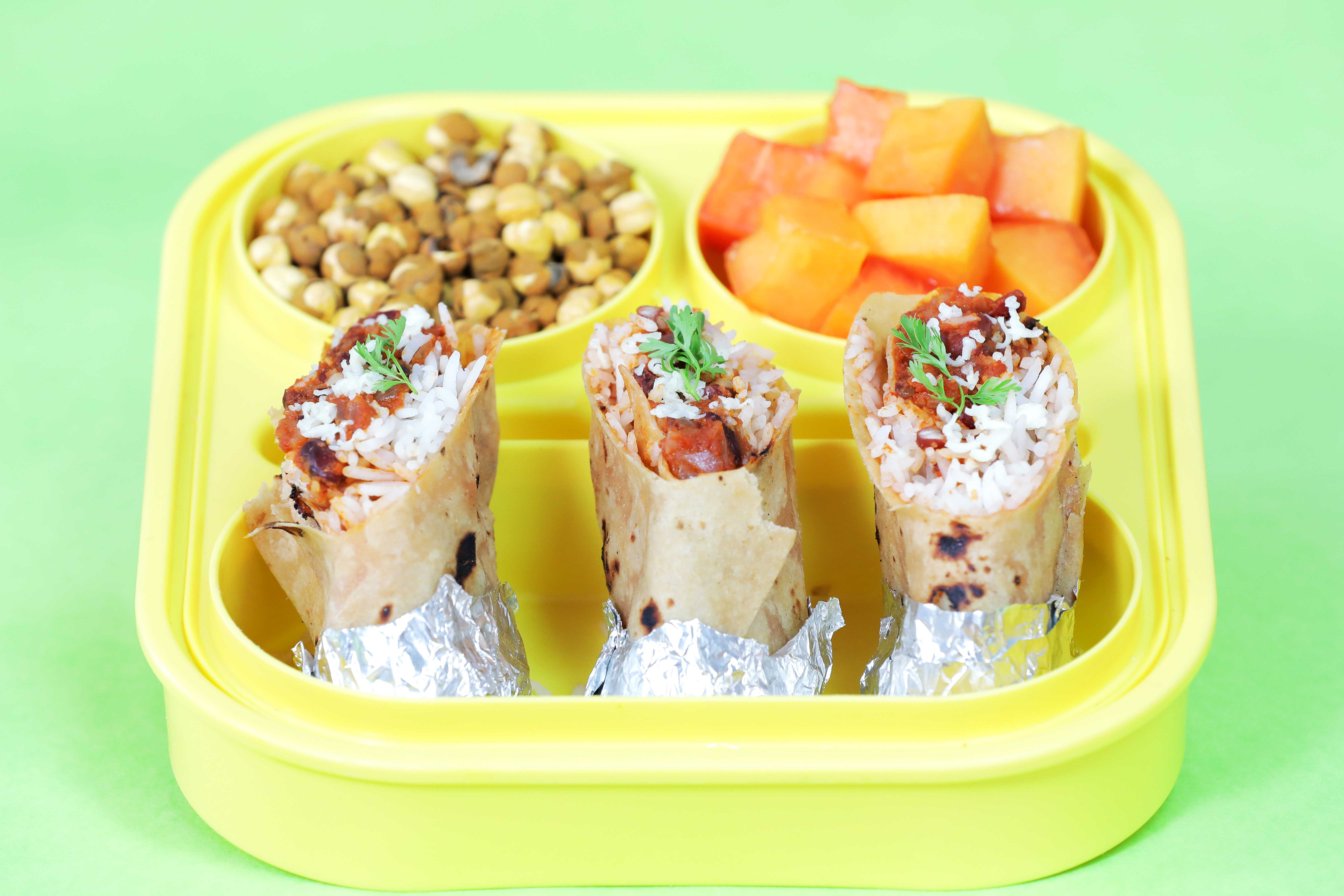 Mexican Burrito Recipe: Indian-Style Burritos