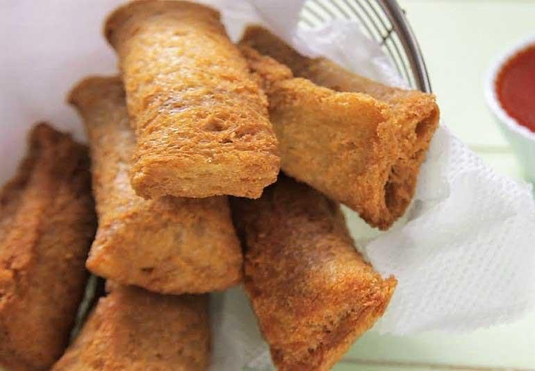 Bread Pizza Pockets in Tamil: Cheese Pizza Puff Recipe