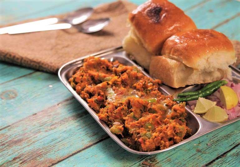 Mumbais Street Food Comes Home! Pav Bhaji Recipe in Hindi
