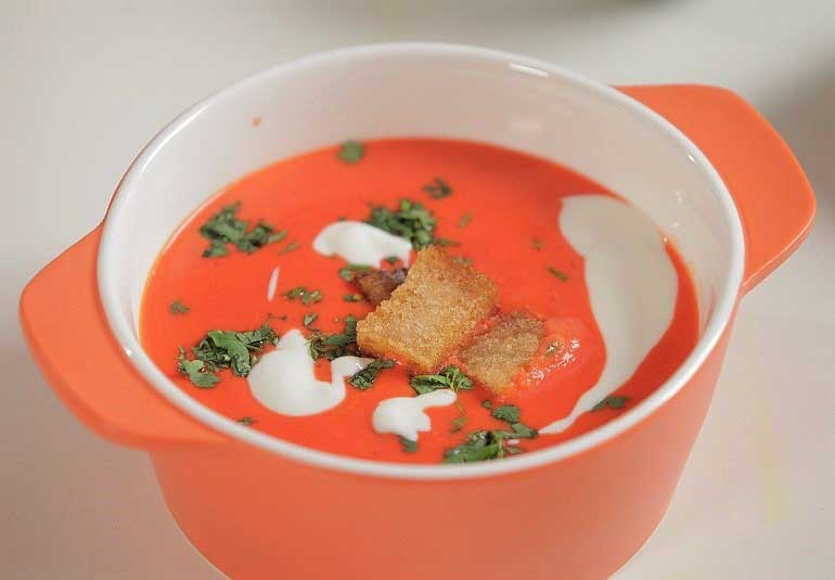 Tomato Soup for the Hungry Soul: Hindi Recipe