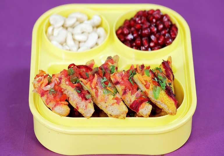 Bread Ulta - Snack Recipe For Kids Tiffin Box