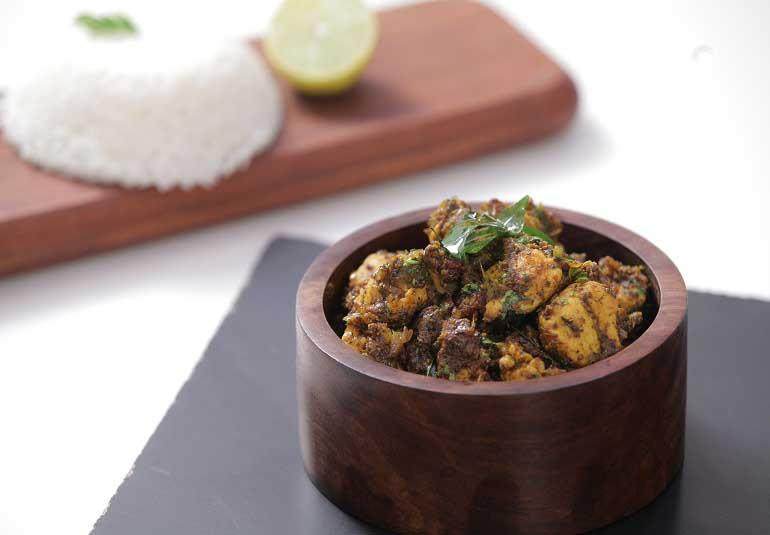 Restaurant Style Pepper Chicken Dry