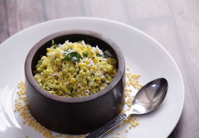 Kosambari Recipe - Moong Dal Salad