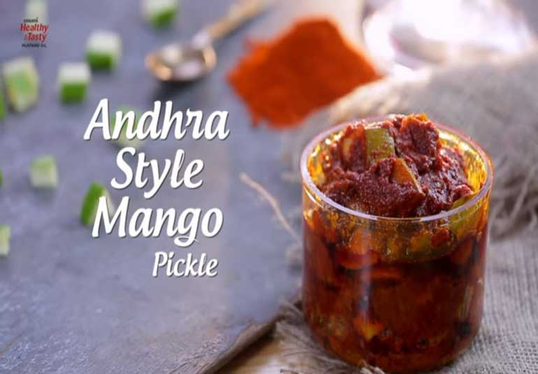 Pickles of India : Andhra Style Mango Pickle Recipe