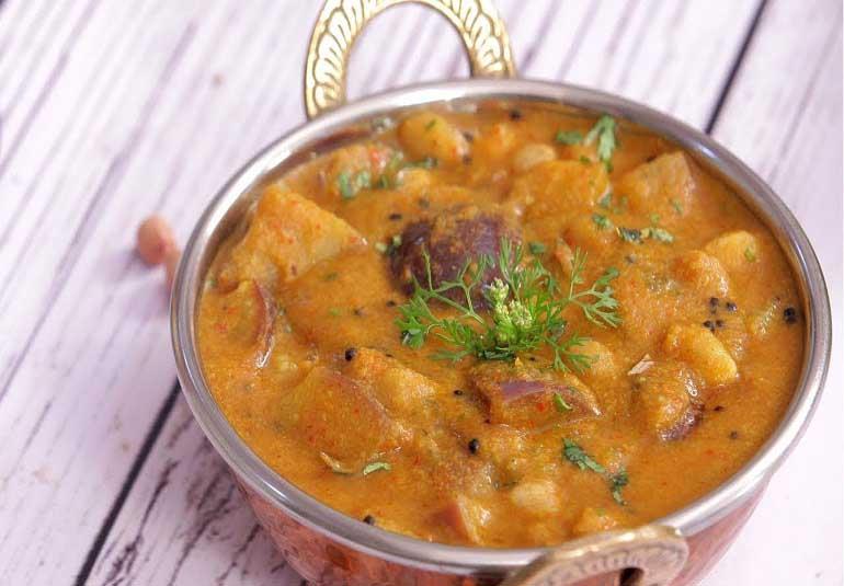 How To Make Baingan Masala Curry
