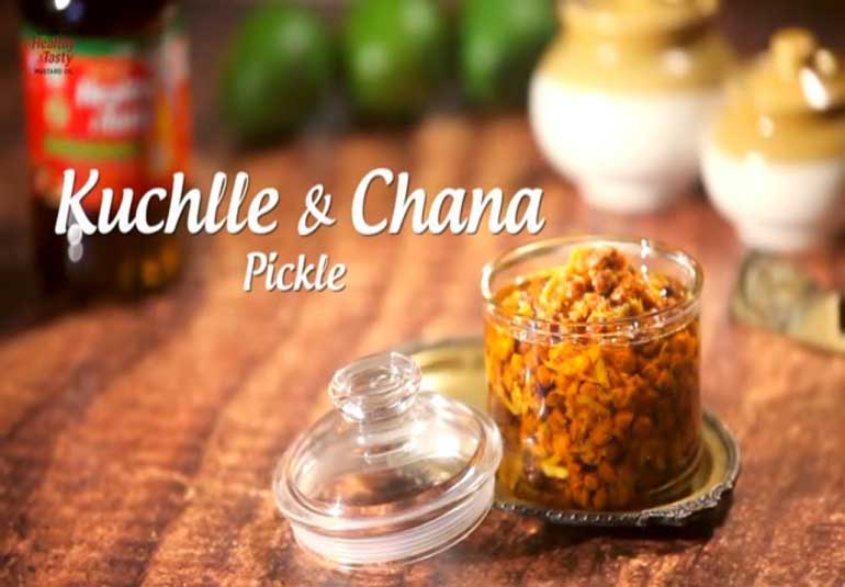 Pickles Of India : How To Make Chickpeas & Raw Mango Pickle