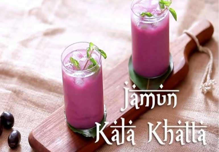 Refreshing Jamun Kala Khatta