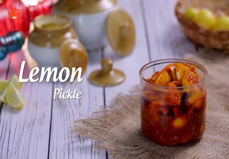 Pickles Of India : Lemon Pickle Recipe