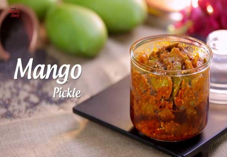 Pickles of India : Maharashtrian Style Mango Pickle