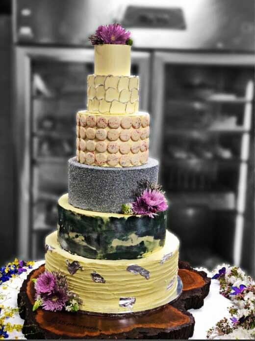 The Big Fat Bollywood Wedding Cake
