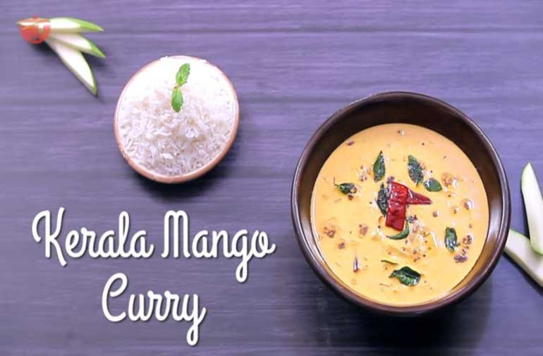 Kerala Style Mango Curry: Raw Mango Curry with Coconut Milk Recipe