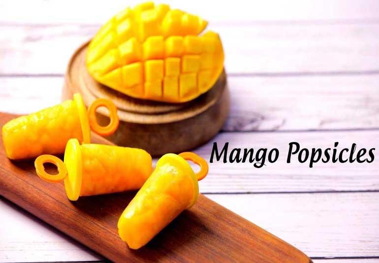 Summer Special Mango Recipe: No cook Mango Popsicles Recipe