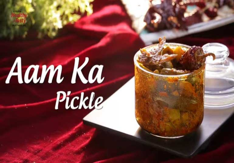 Pickles Of India: Instant Raw Mango Pickle Recipe