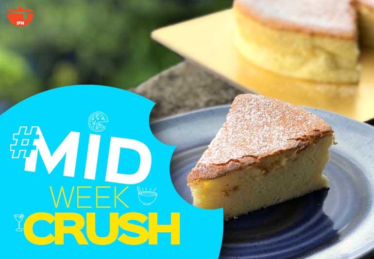 Midweek Crush: Japanese Cotton Cheesecake
