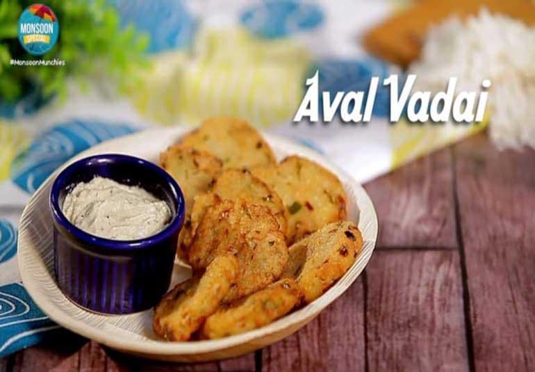 How To Make Poha Vada Recipe