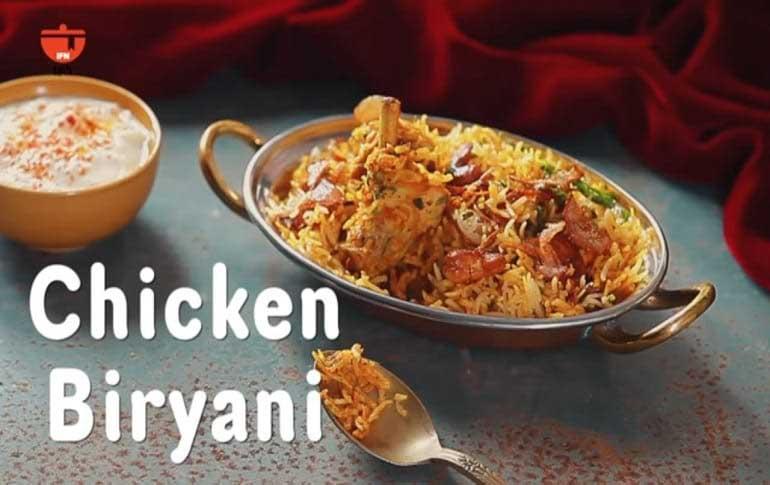Homemade Chicken Biryani