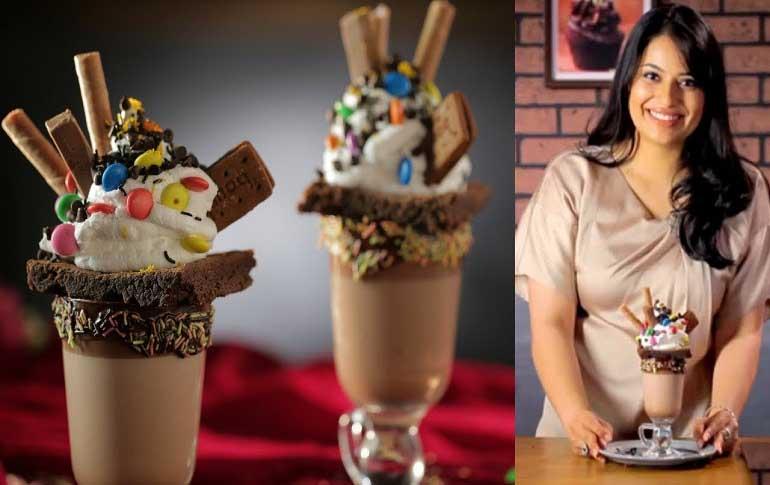 Chocolate Brownie Freakshake Recipe