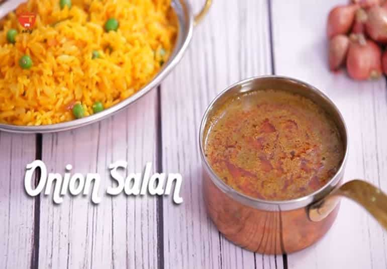 Restaurant Style Biryani Gravy Onion Salan