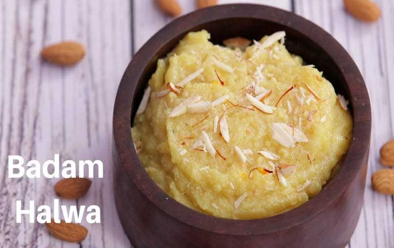 Almond Halwa Recipe