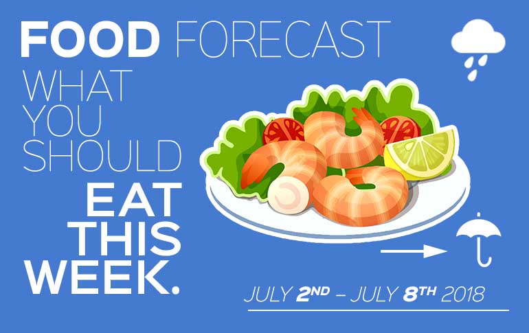 Food Forecast: July 2 - 8