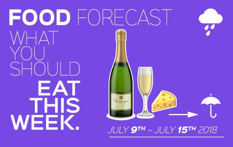 Food Forecast July 9 – 15