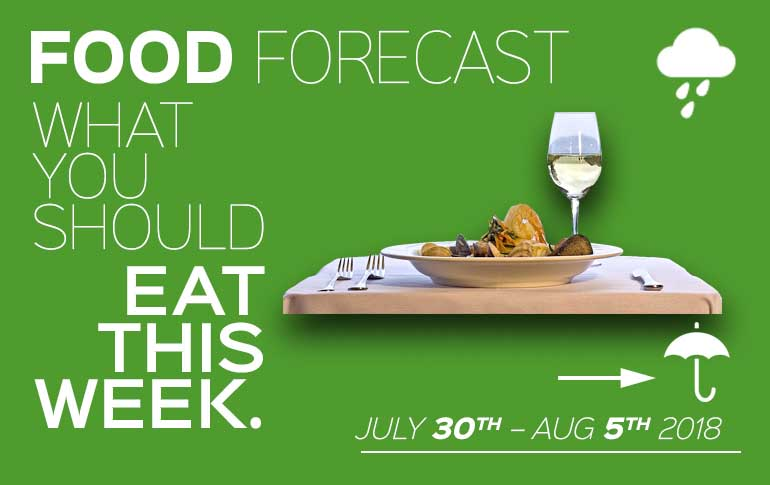Food Forecast: July 30 – August 5
