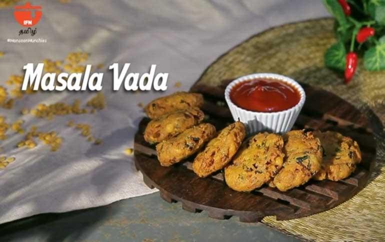 How To Make Masala Vada